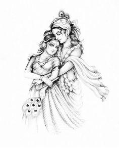 Image may contain: drawing Krishna Tattoo, Krishna Drawing, Krishna Painting, Lord Krishna Sketch, Radha Krishna Sketch, Krishna Statue, Krishna Art, Jai Shree Krishna, Dancing Drawings