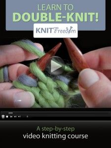 This site has tons of helpful video tutorials to teach you how to knit.