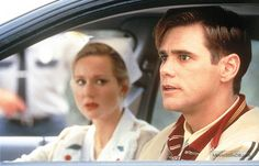 The Truman Show - Publicity still of Laura Linney & Jim Carrey 90s Movies, Iconic Movies, Movies To Watch, Good Movies, Movie Tv, Movies Showing, Movies And Tv Shows, The Truman Show, Laura Linney