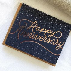 Is it anyone's anniversary today? If so, this ones for you 😘 Happy Anniversary card form Bespoke Letterpress - Letterpress Invitations, Letterpress Printing, Birthday Gift Wrapping, Birthday Cards, Happy Anniversary Cards, Engagement Cards, Friendship Cards, Stationery Paper, Love Cards