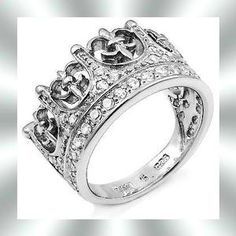 Crown Ring Mens Wedding Bands - Tbrb.info