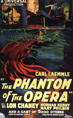 The Phantom of the Opera (1925) directed by Rupert Julian