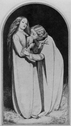 The Return of the Dove to the Ark (sketch) #JohnEverettMillais #preraphaelites