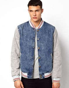 Denim Jacket With Hood | Shops ASOS and Jackets