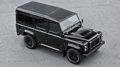 You may not expect a Land Rover Defender seven-seater to be the kind of car used for a customization project that includes items such as quilted, perforated leather. However, this seems to have become the usual business for British tuner