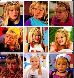 Lizzie McGuire hair appreciation pin