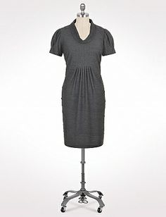 Plus Size Textured Cowl Neck Dress | Dressbarn $56.00