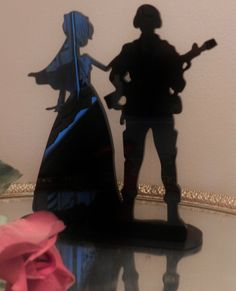 Military Army Soldier  Wedding Cake topper Groom by spartacarla, $46.00