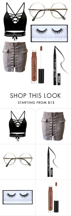 """Untitled #56"" by ashelycamille ❤ liked on Polyvore featuring ZeroUV, Kat Von D, Huda Beauty and Anastasia Beverly Hills"
