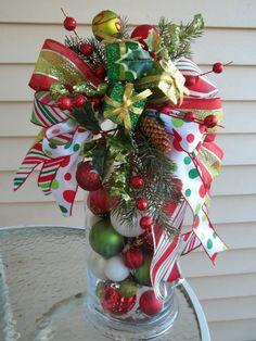CHRISTMAS BOUTIQUE WINDOW  Decorative by DecorClassicFlorals, $24.95