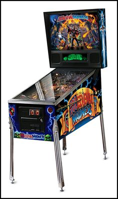 This is a MEDIEVAL MADNESS Standard Pinball Machine Game for sale - Planetary Pinball with silver trim. Planetary Pinball, Chicago Gaming and Stern Pinball announce Specialty Manufacturing Video Game Machines, Arcade Game Machines, Arcade Machine, Vending Machine, Arcade Games, Pinball Games, Stern Pinball, Arcade Room, Marble Machine