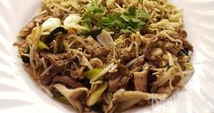 Japchae, Pasta, Ethnic Recipes, Food, Essen, Meals, Yemek, Eten, Pasta Recipes