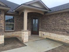 Old Francisco Brick, Sierra Blend Stone Brick And Stone, Brick, Home, House Exterior, Brick House, Outdoor Decor, New Homes, House, Saratoga Homes