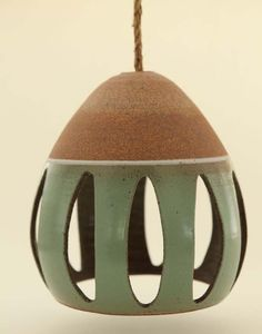 Heather Levine's ceramic hanging pendant lights - All For Decoration Ceramic Candle Holders, Wall Candle Holders, Ceramic Light, Ceramic Pendant, Line Sculpture, 3d Foto, Pottery Designs, Pottery Ideas, Hanging Pendants