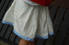 Lazy Days Skirt | Free Sewing Patterns | Oliver + S - the perfect first pattern. There's one for dolls too. M
