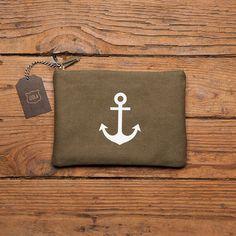 Maritime Zipper Pouch