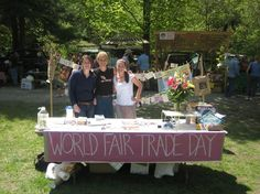 #FairTrade #Battleboro, VT on World Fair Trade Day!
