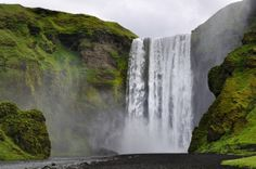 Skógafoss Waterfall in Iceland | 12 Places You Would Rather Be Than Your Desk Right Now