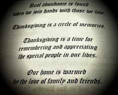 May I wish Each & Every Person on here a Very Happy Thanksgiving ~ Thankful for our Troops staying Strong ~ Thankful for Life ~ Thankful for My Family & Yours ~ May we all continue to be Blessed ~ Amen