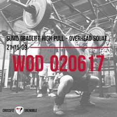 WOD 020617 #CrossFit #Grenoble #CrossFitGrenoble #Wod #Training #OriginalAthlete #smh #DuSportMaisPasQue #OverheadSquat #SDHP #Sport #SurvivalKit #TimeIsMyOwn