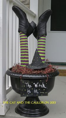 The Cat and the Cauldron: Pinterest Project #7