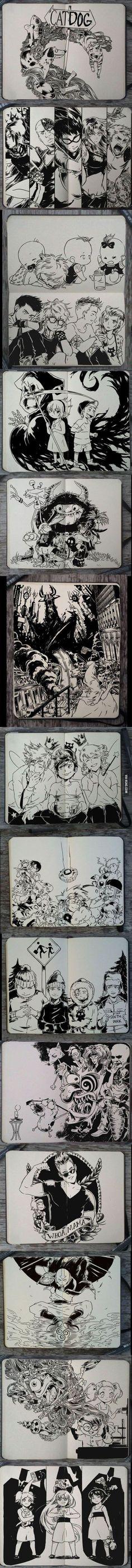 Assisti todos esses desenhos eu adoro eles até hoje exceto Digimon eu não assisti eu preferia Pokemon