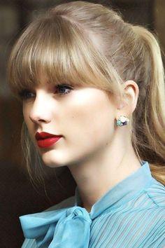 Taylor Swift Hot, Taylor Swift Bangs, Long Live Taylor Swift, Taylor Swift Style, Taylor Swift Pictures, Taylor Swift Hairstyles, Taylor Swift Fashion, Taylor Swift Hair Color, Taylor Swift Makeup