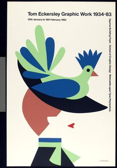 Tom Eckersley (1983), Newcastle Upon Tyne Polytechnic exhibition poster