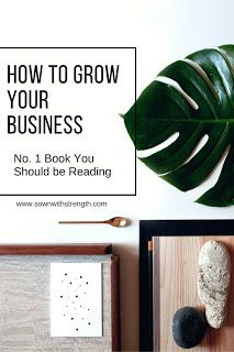 The number 1 book suggestion to all business owners or individuals seeking to be successful in their field.   www.sownwithstrength.com