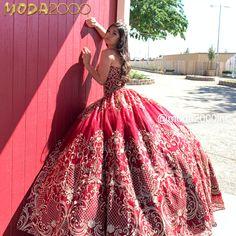 Red Sparkly Dress, Gold Dress, Pink Dress, Quinceanera Dresses, Prom Dresses, Quince Dresses, Sweet 16 Dresses, Burgundy And Gold, Dresses Kids Girl