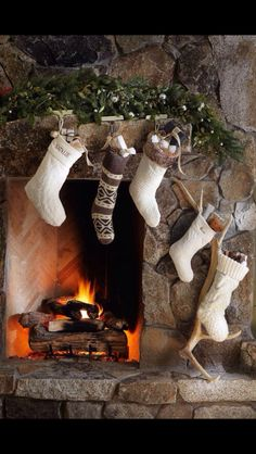 Fireplaces...