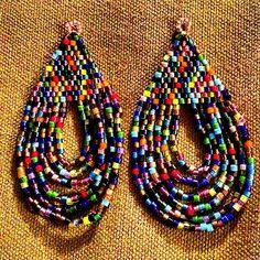 #earrings #brickstitch #delicas