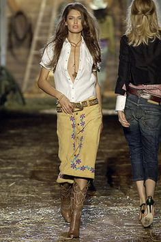 Great spring look #modwestern