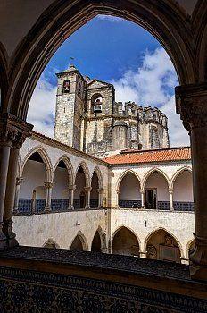 Templar Convent of the Order of Christ (Portuguese: Convento de Cristo) Tomar, Portugal