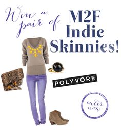 Enter our contest for a chance to win a pair of M2F Indie Skinnies! or details on how to enter: http://m2fdenim.tumblr.com/post/41295847313/enter-our-contest-now-for-a-chance-to-win-a-pair
