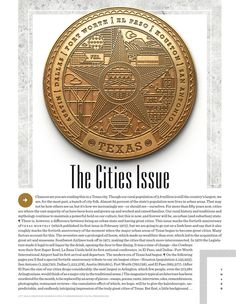 Texas Monthly - Editorial Illustration by Kendrick Kidd, via Behance
