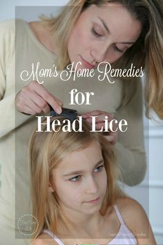 Just a few home remedies for head lice from our Mommy chat group. #HomeRemedies