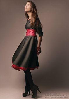 New Look-sukienka wełniana (proj. Łatka fashion)