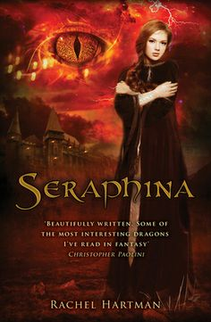 Seraphina (Seraphina, #1) by Rachel Hartman. Fantasy section under H. Four decades of peace have done little to ease the mistrust between humans and dragons in the kingdom of Goredd. Folding themselves into human shape, dragons attend court as ambassadors, and lend their rational, mathematical minds to universities as scholars and teachers. As the treaty's anniversary draws near, however, tensions are high.