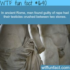 Can we bring this punishment back? Ancient Rome laws - WTF fun facts