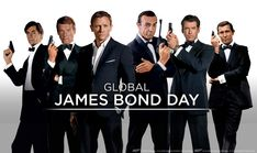 Happy Global James Bond Day everyone! Today marks 57 Years since the first James Bond film DR NO Premiered! All James Bond Movies, James Bond Cars, Craig Bond, Daniel Craig 007, Pierce Brosnan, Roger Moore, Sean Connery, Estilo James Bond, Jems Bond