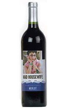 Mad Housewife Merlot Wine, $49.00 #wine #valentine #gifts #1877spirits