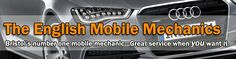 The English Mobile Mechanics is a Bristol based service with over 25 years in the trade. Have your car repaired & looked after by a qualified mechanic at your home, at your place of work, at our garage, or where-ever you happen to have broken down. The business is run by fully qualified mechanics who have the  knowledge & experience to get the work carried out quickly, efficiently, & at a fair price.    Call:   07825 741 866    Or visit:  http://www.bristolmobilemechanics.com/