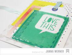 Janna Werner: accordion mini album (for American Crafts)