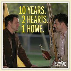 New Girl Schmidt and Nick