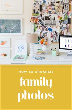 The best way to organize those family photo albums tucked away in boxes or storage, in just 3 easy steps.