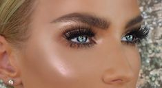 56 Best Lovely Blue Eye Natural Makeup Inspirational Designs For Prom And Wedding - Page 13 of 57 - Coco Night