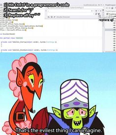 The Evilest Thing I Can Imagine: Programming Edition