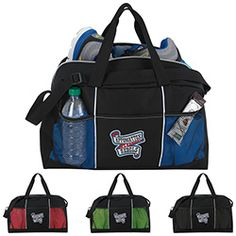 Atchison Stay Fit Duffel #duffelbag #sports #promotionalproduct
