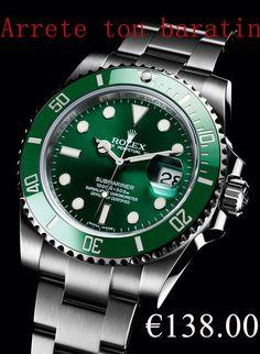 Rolex Submariner Date 116610LV-97200 Vert